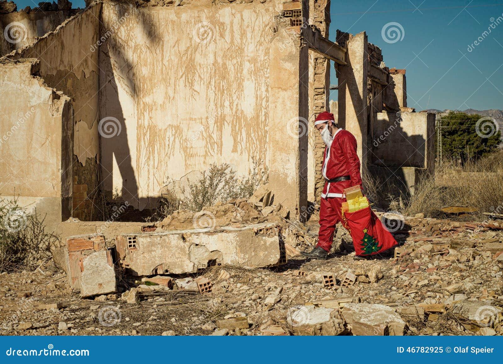 Fed upp jultomten