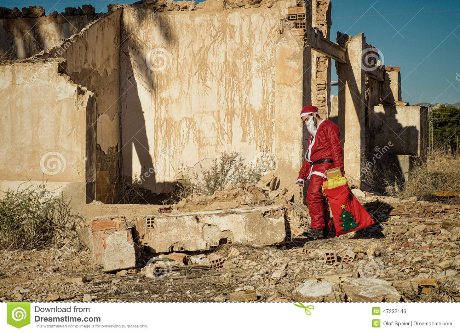 Fed vers le haut de Santa
