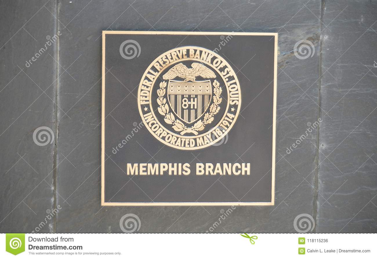 Memphis Branch Of The Federal Reserve Bank Editorial Photo Image