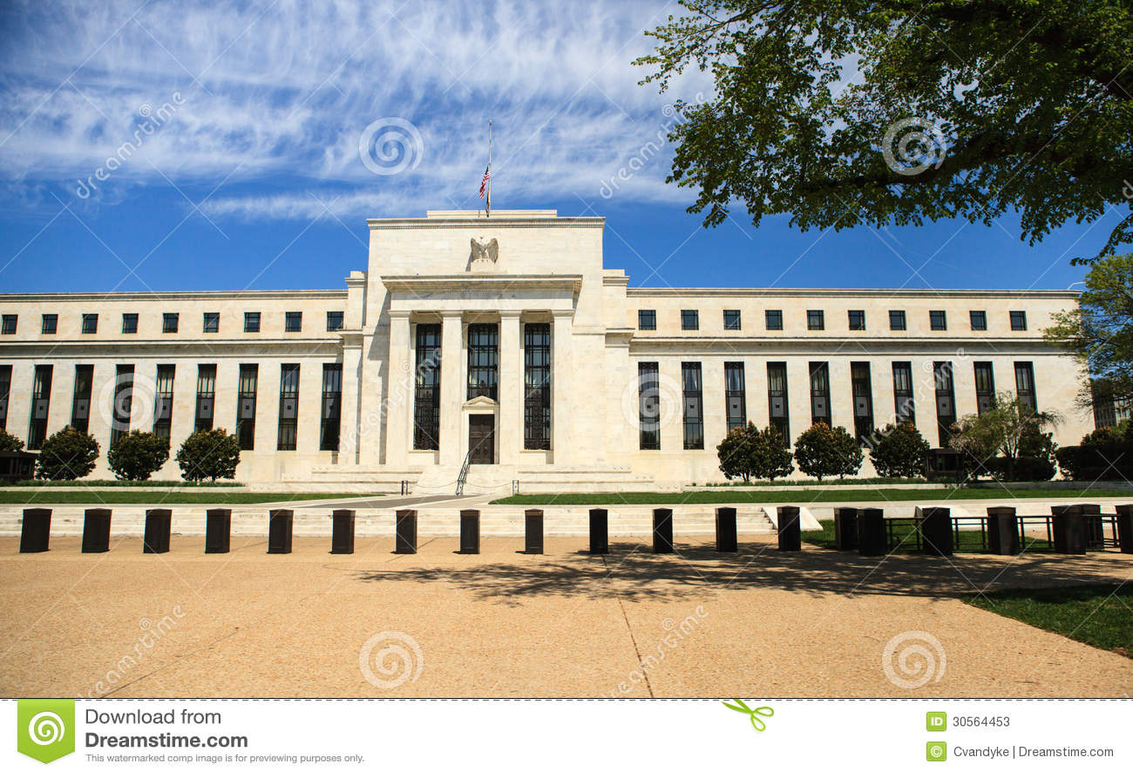 Federal Reserve Building Washington Dc Stock Photos