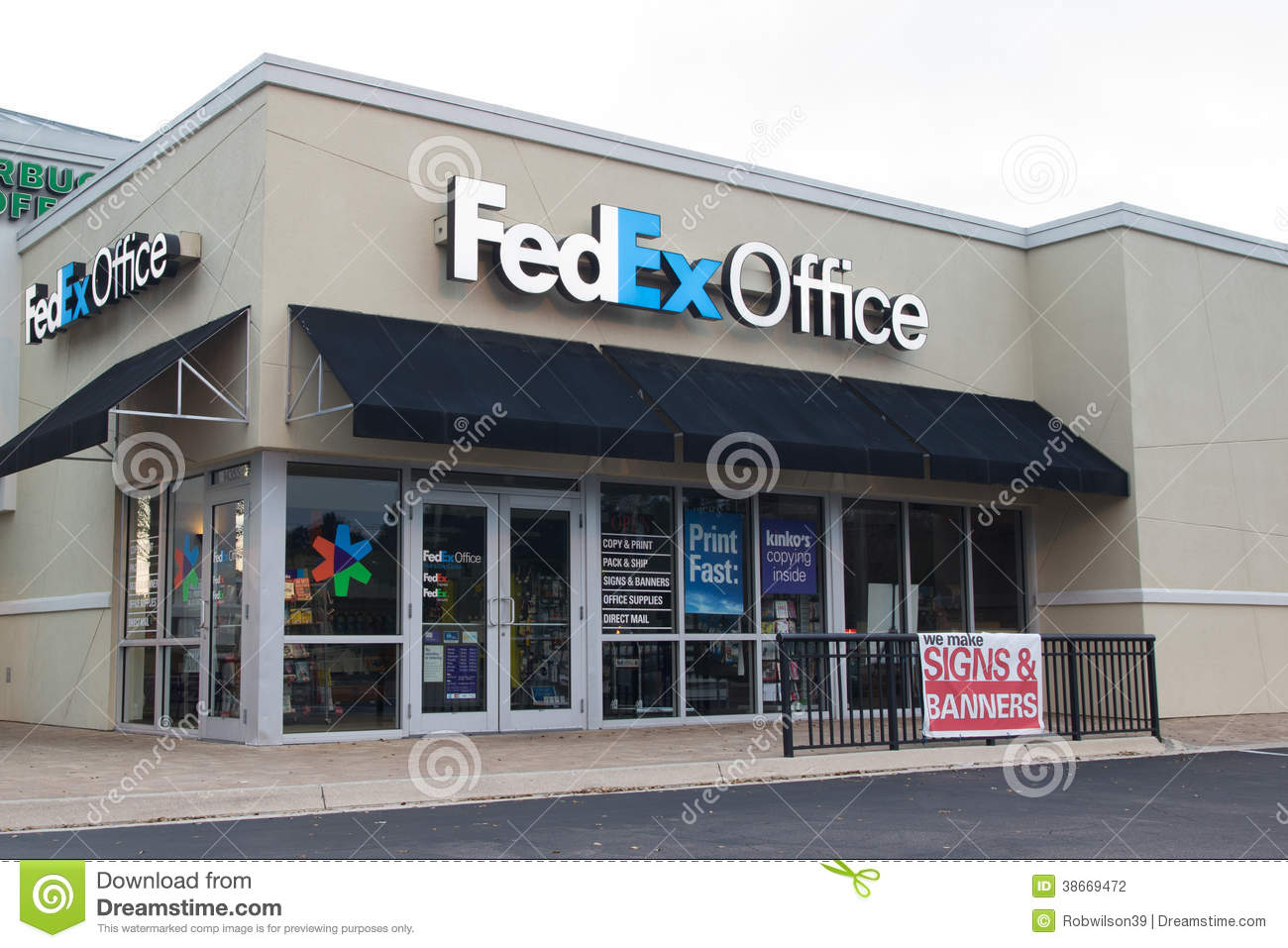 Cost of color printing at fedex - Kinko S Fedex Fedex Office Stock Photography