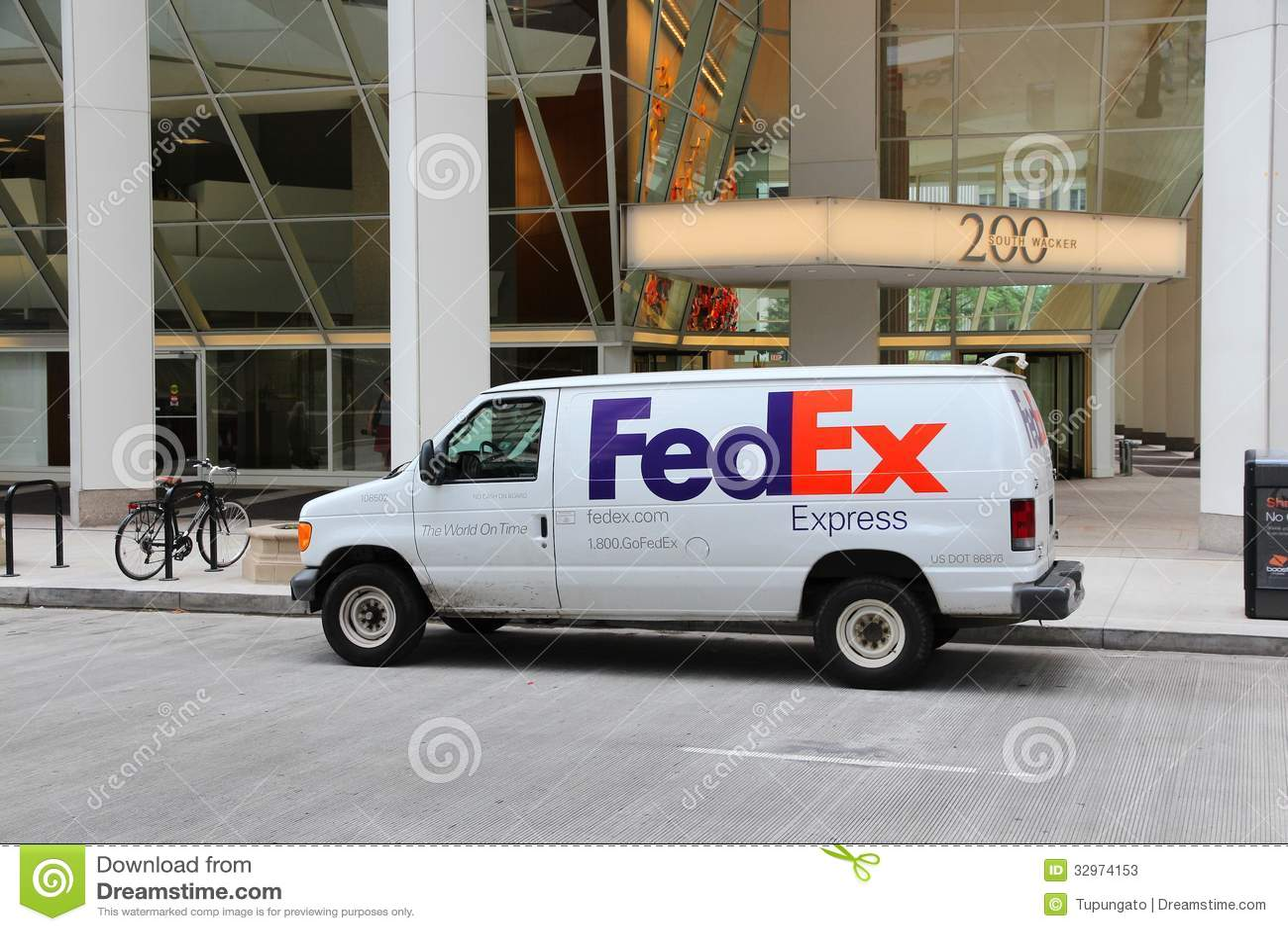 Fedex Truck Editorial Stock Photo Image 32974153