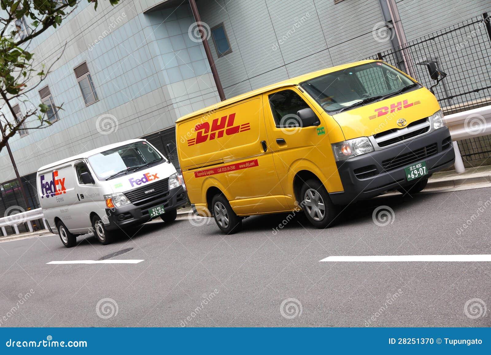 Fedex Vs Dhl Editorial Image Image 28251370