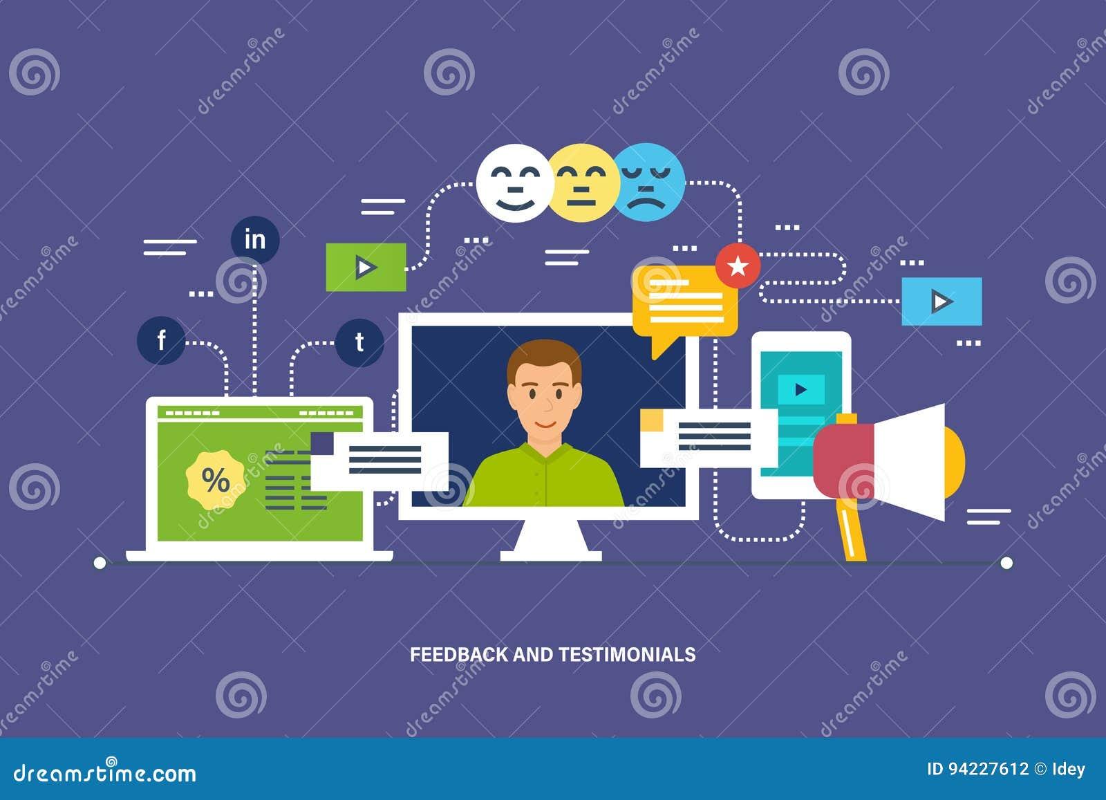 Feedback, Berichte und Bewertung, Referenzen, wie, Kommunikation und Technologieberichte