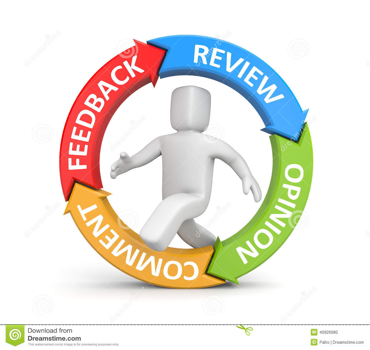 Comments: Feedback, Reviews, Opinion, Comments Stock Illustration