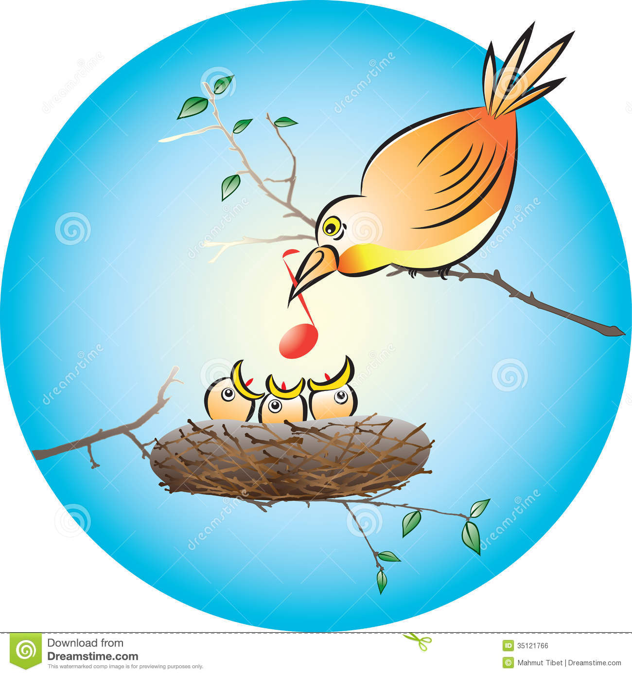 Bird Feeding Chicks Nest Stock Photos, Images, & Pictures - 541 Images