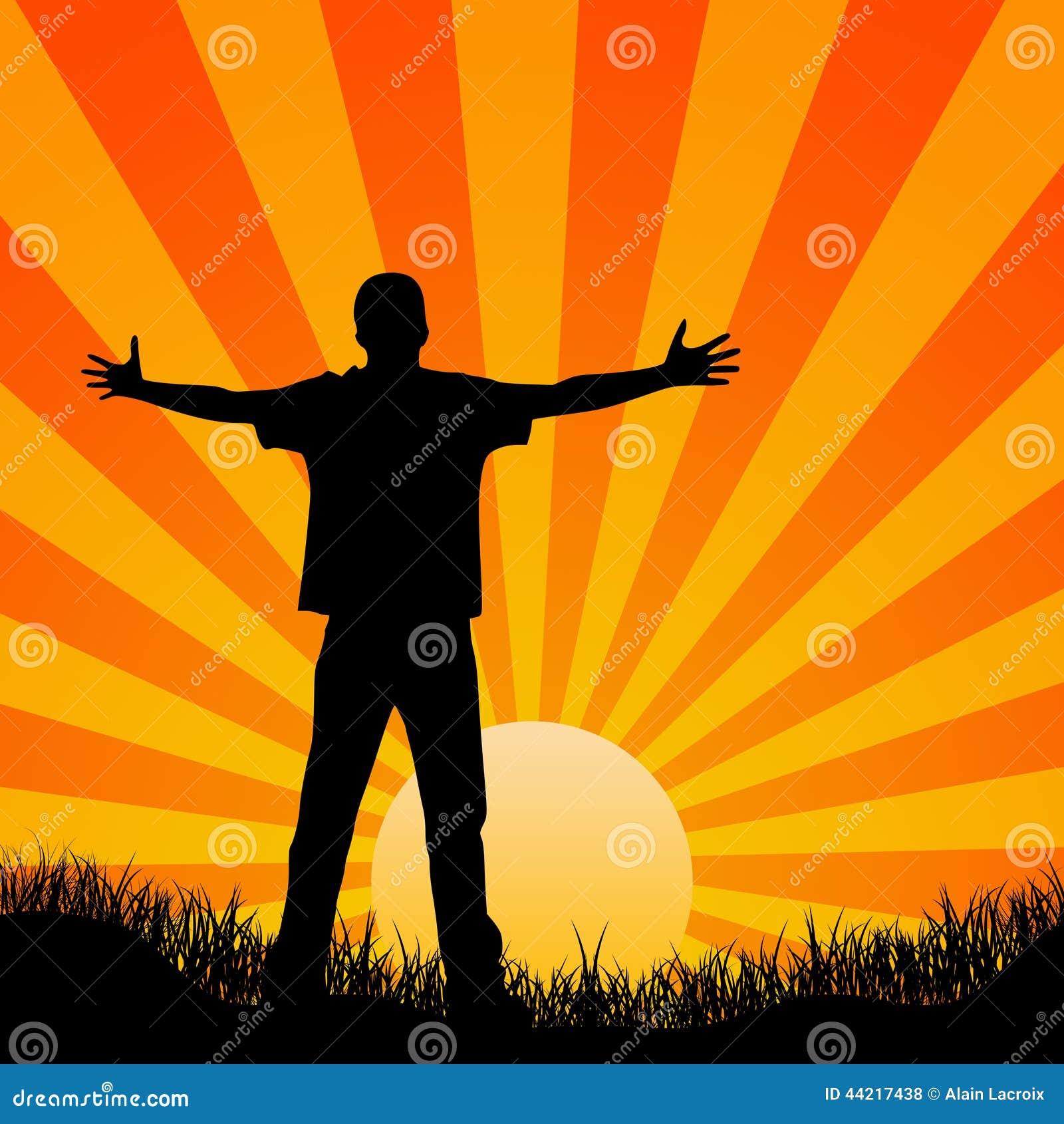 Feeling Free Stock Illustration Image 44217438