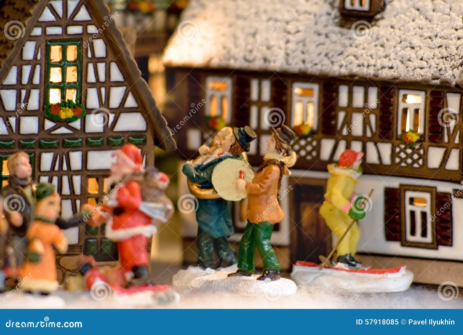 Feenhafte Geschenke Am Weihnachtsabend In Österreich Stockbild ...