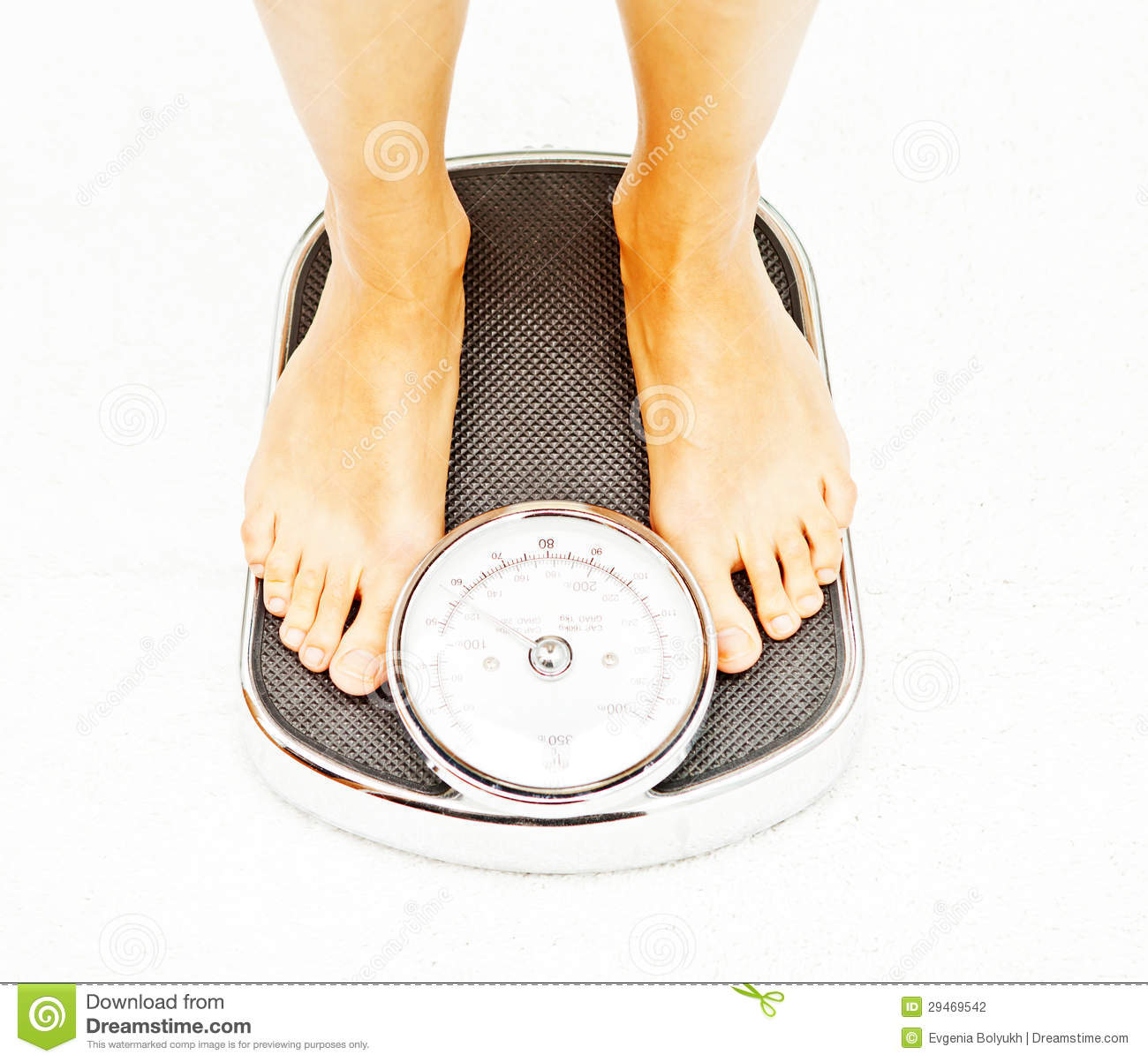 Feet On Floor Scales Stock Photography - Image: 29469542