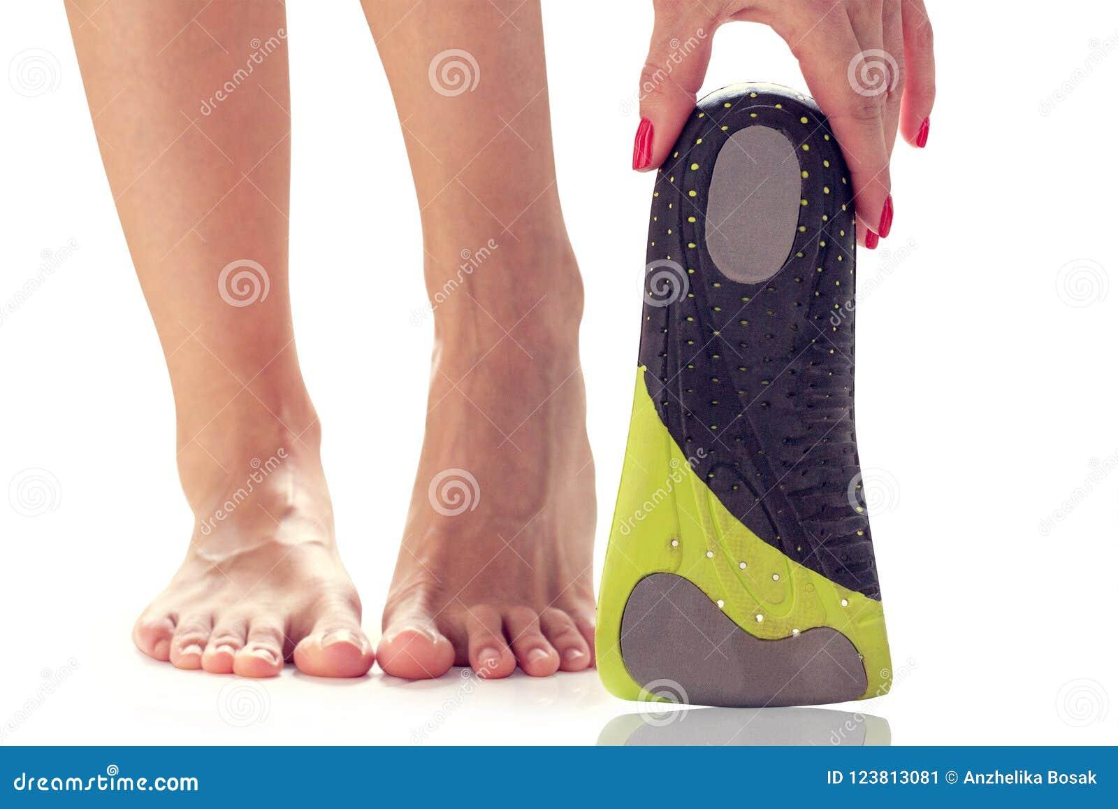 Feet and orthopedic insole
