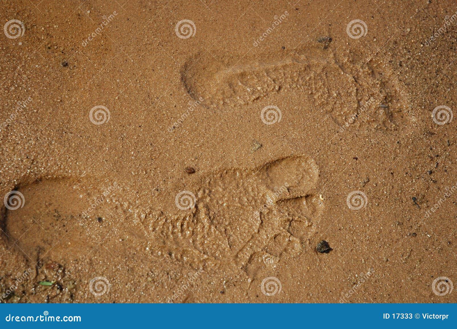 Feet steps
