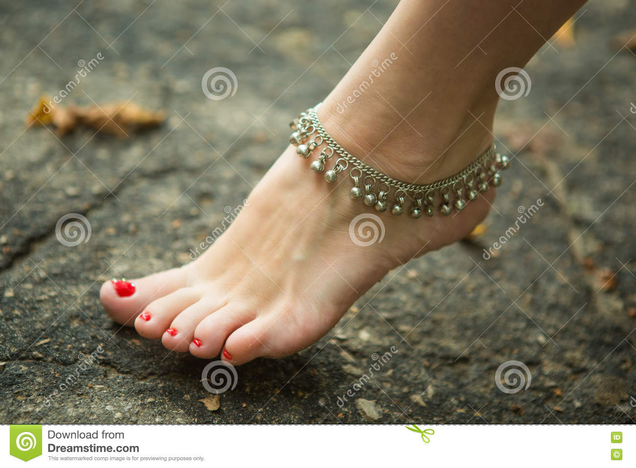 feet of women in ethnic ornaments stock image - image of erotic