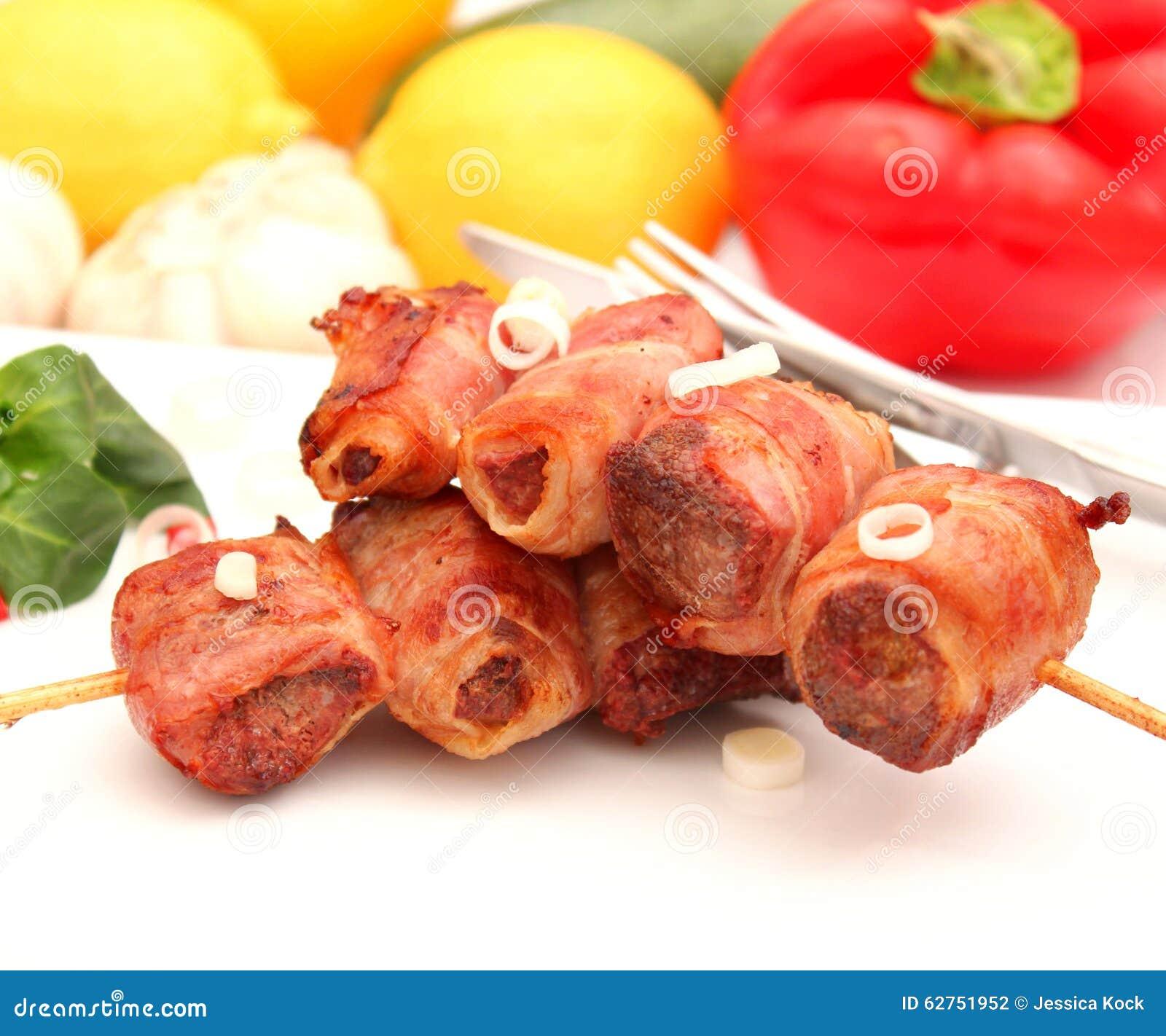Fegato con bacon