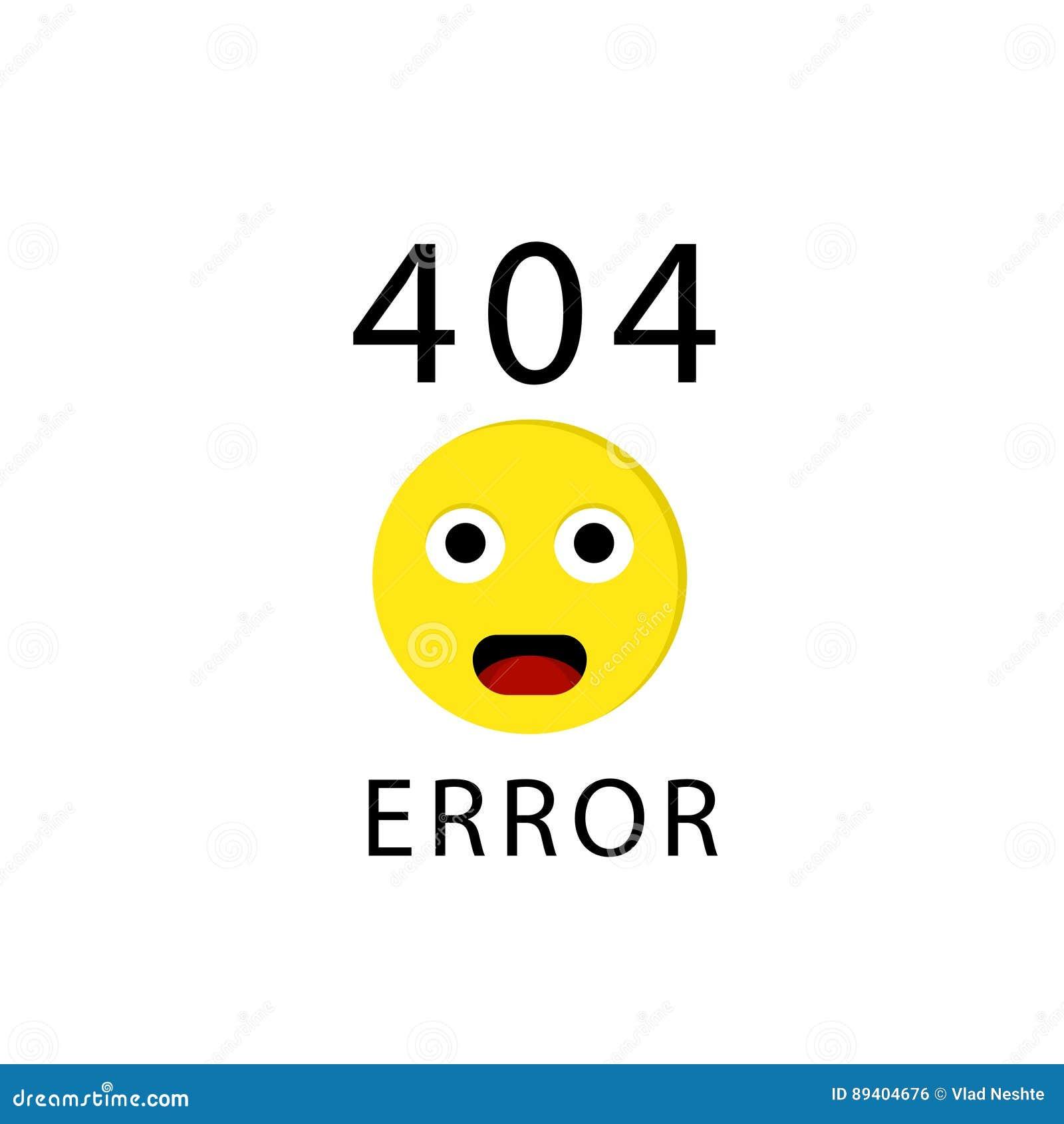 Fehler mit 404 Verbindungen mit Gesicht Emoticon oder emoji Tut mir leid paginieren Sie nicht gefunden Auch im corel abgehobenen