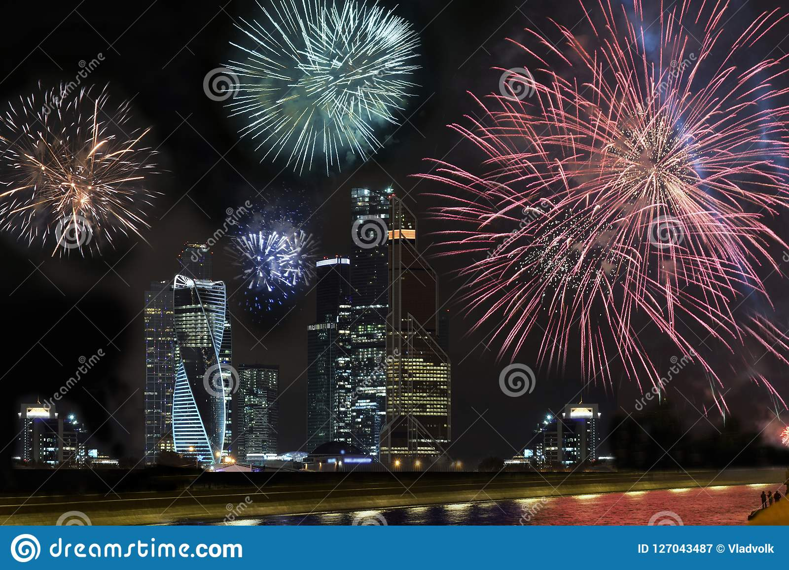Feier des Chinesischen Neujahrsfests, Feuerwerksshow