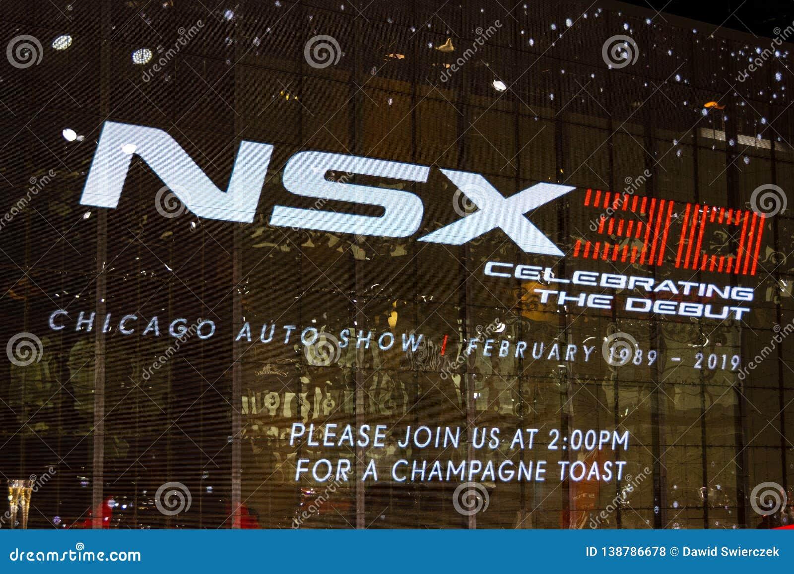 Feiern von 30 Jahren von NSX-Hintergrund