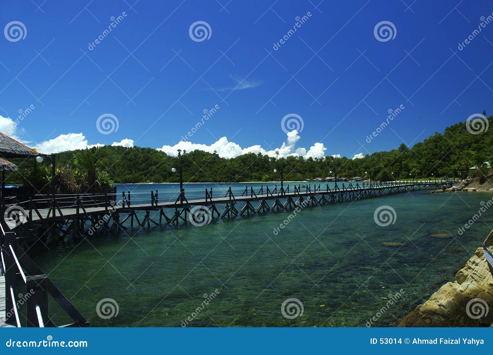Feiertag in Borneo