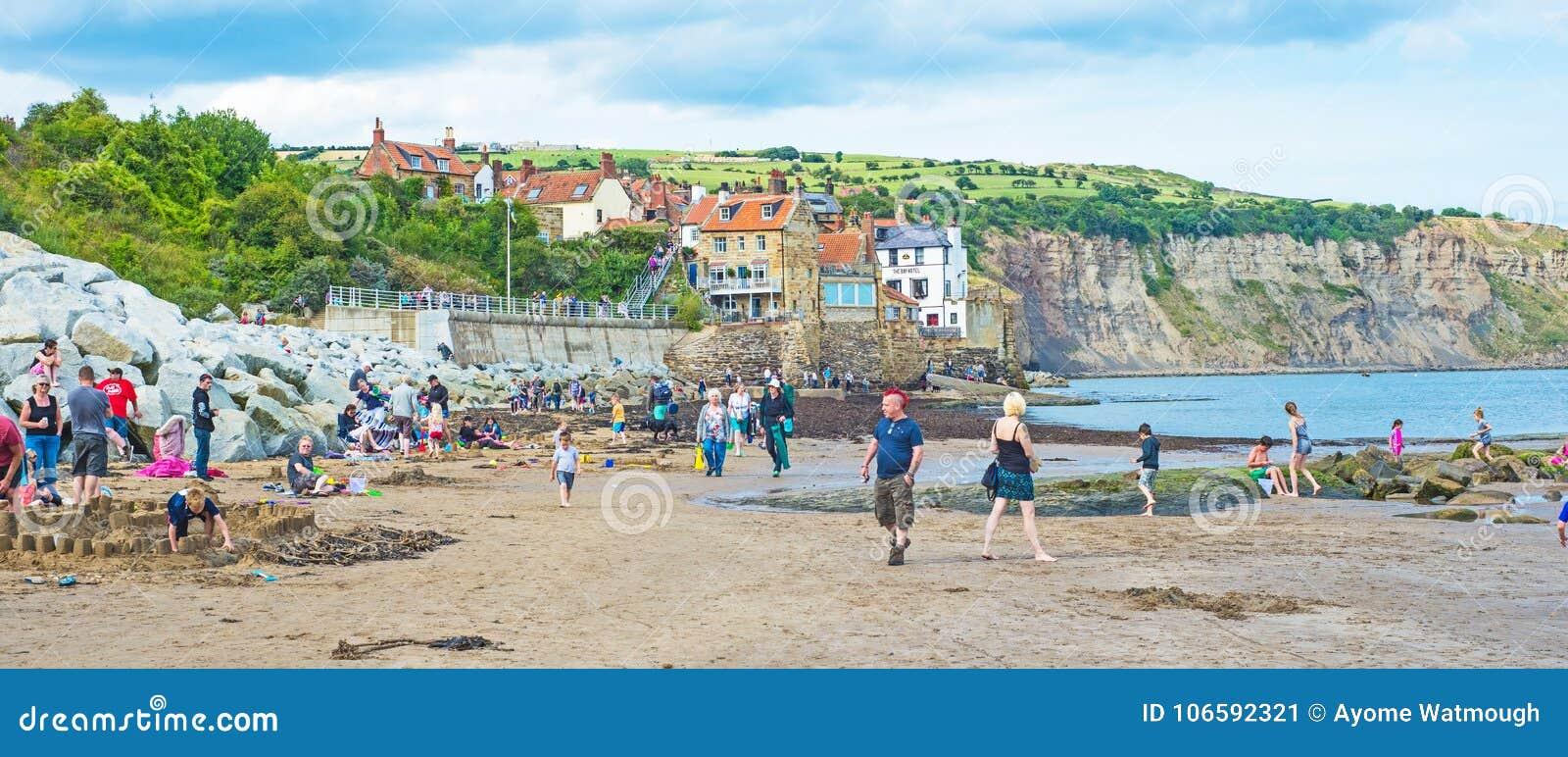 Feiertage an der Küste in England