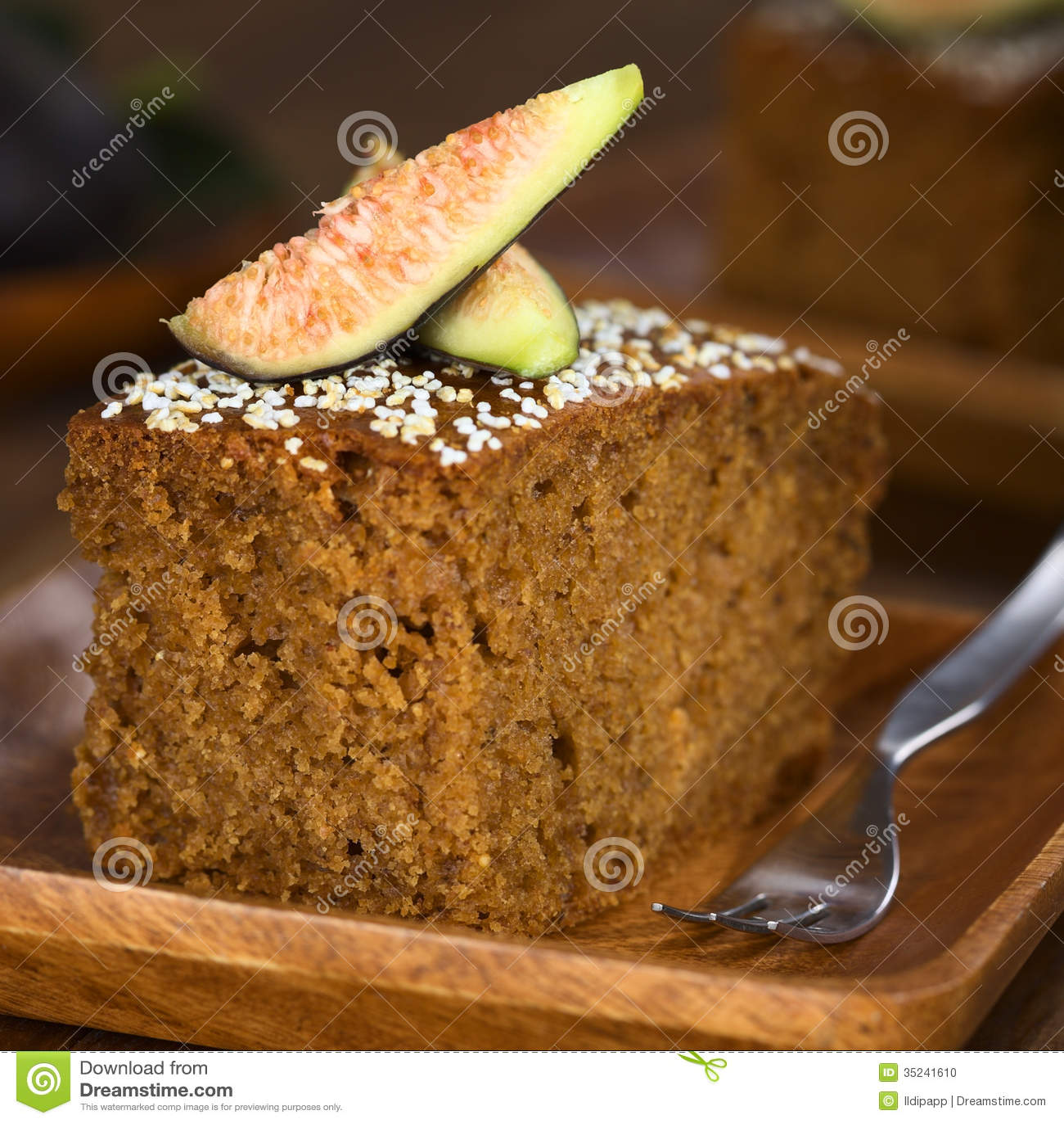 Mandel feigen kuchen