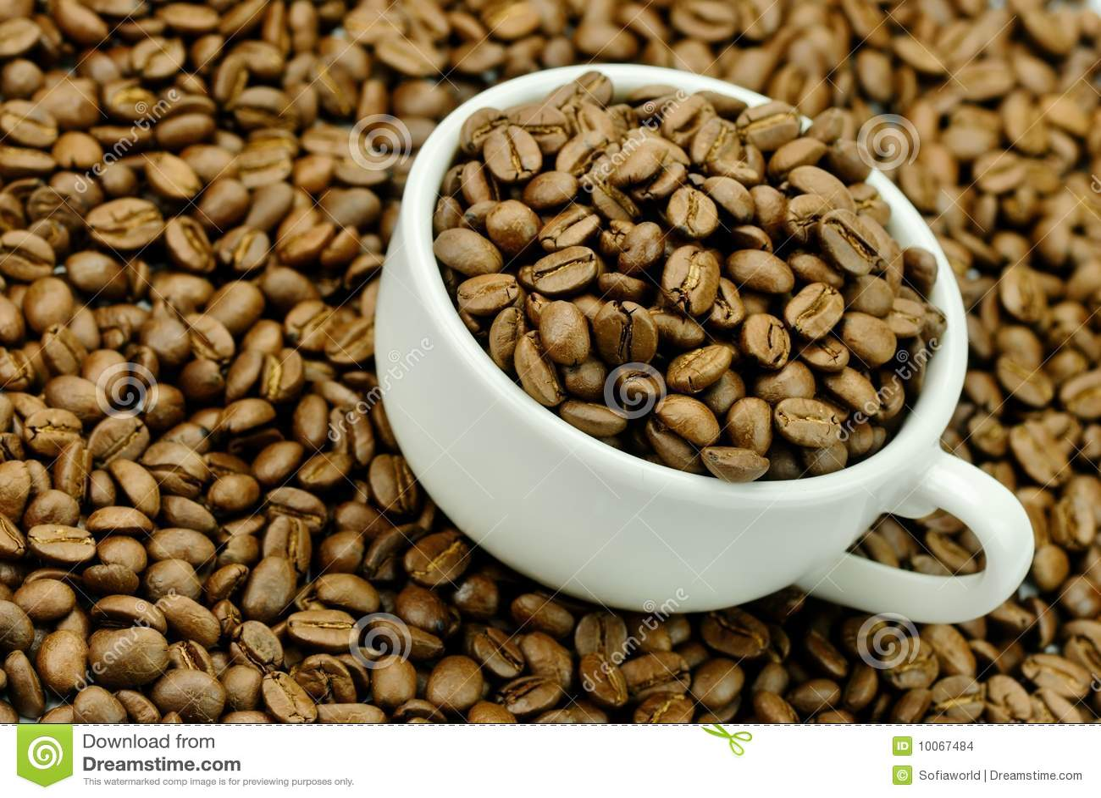 Feijões de café