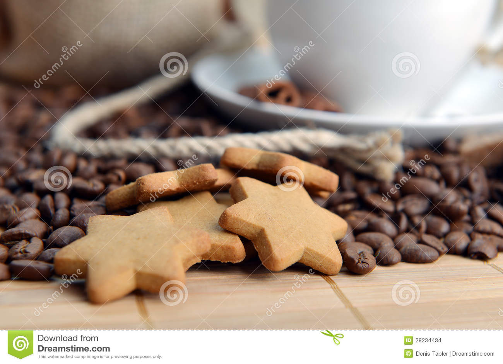Download Feijões de café foto de stock. Imagem de café, bebida - 29234434