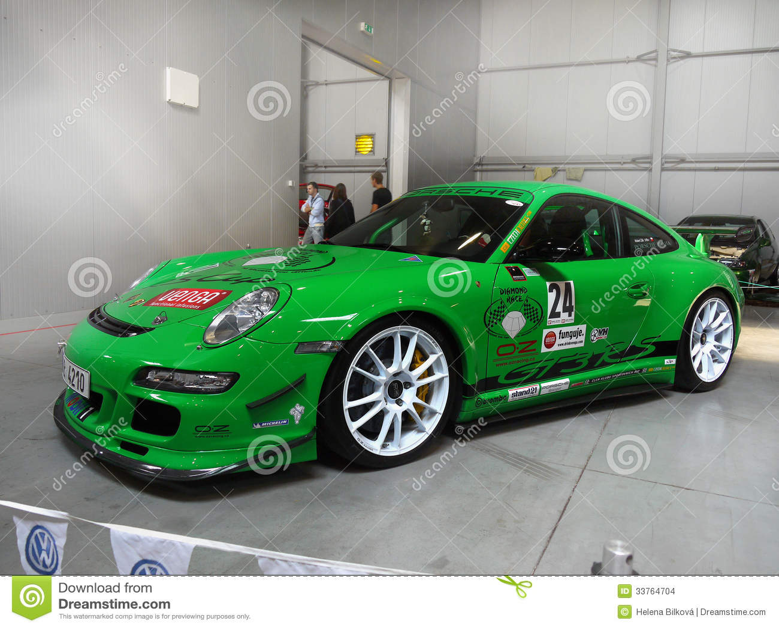Feira automóvel magnífica de Porsche dos carros de competência
