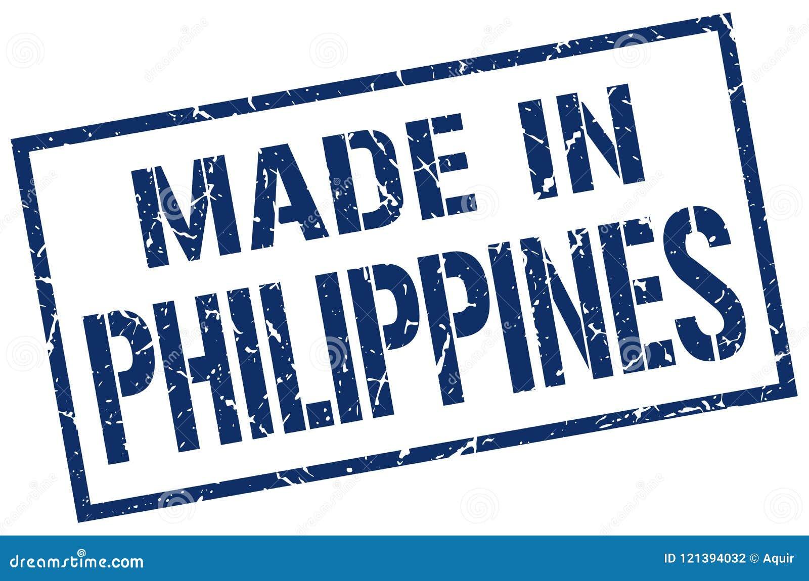 Feito no selo de Filipinas