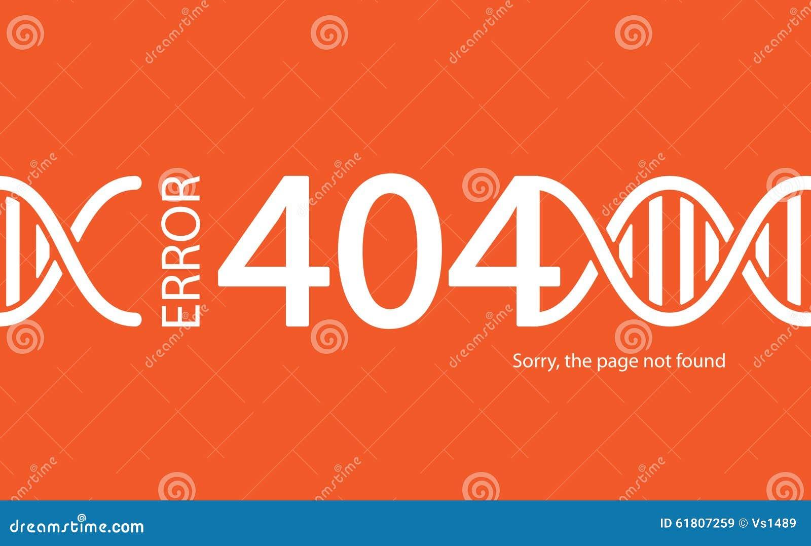 Fel 404 funnen inte sida Abstrakt bakgrund med avbrottsconnec