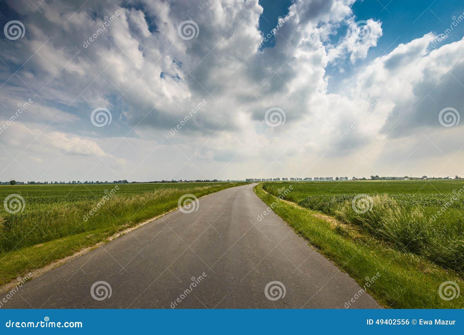Download Feld stockfoto. Bild von szene, mais, bewölkt, grow, betrieb - 49402556