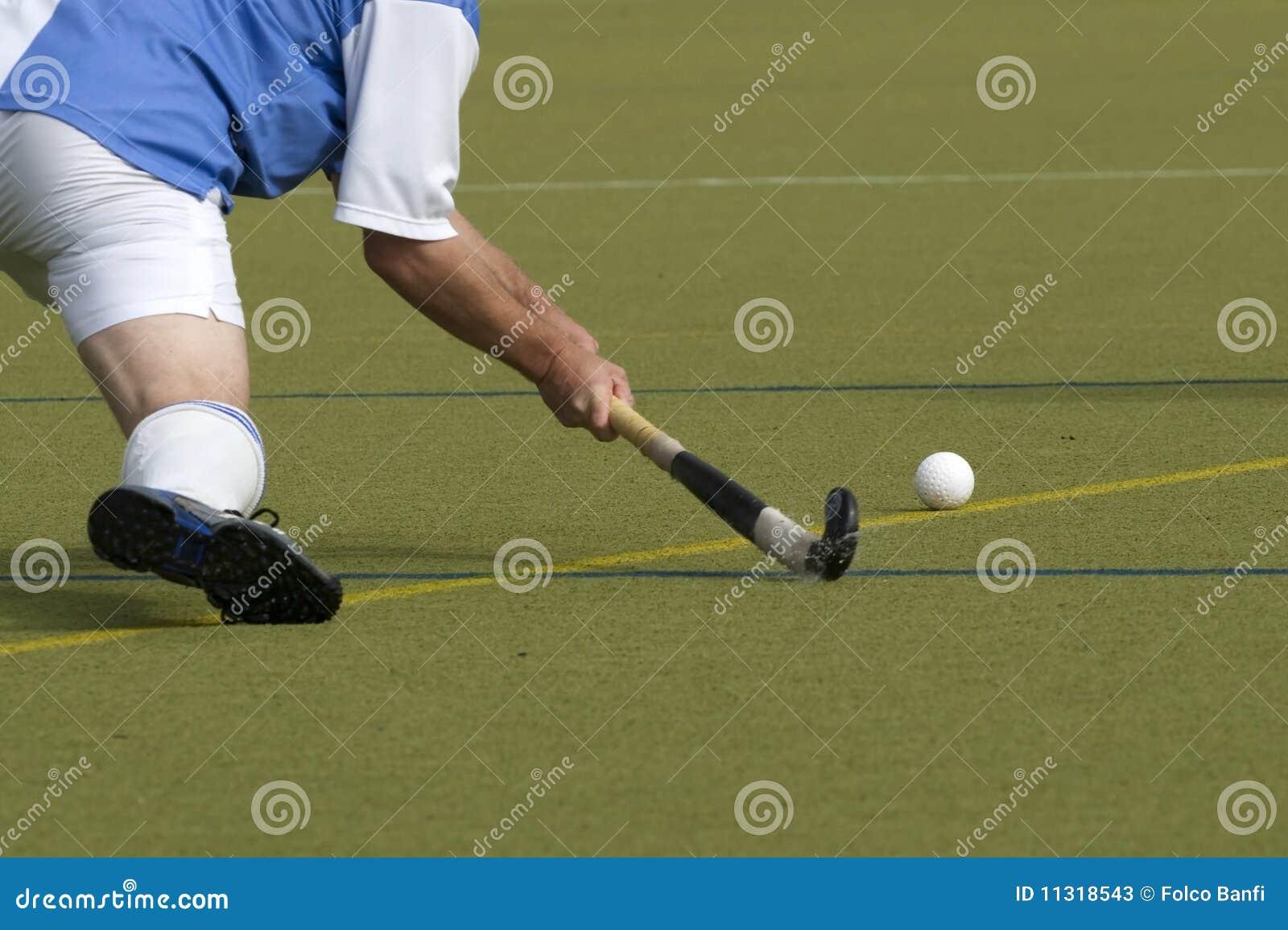 Feld-Hockey-Spieler