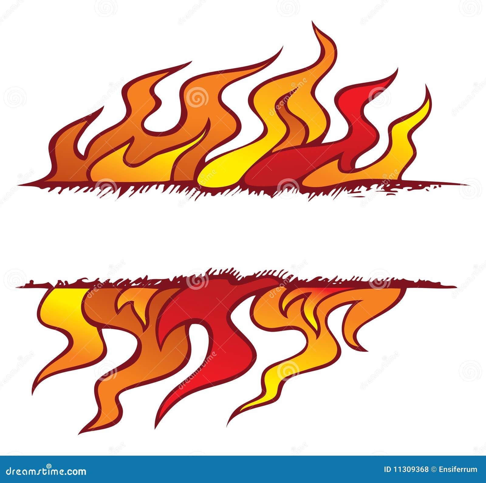 Feld vier Elemente: Feuer