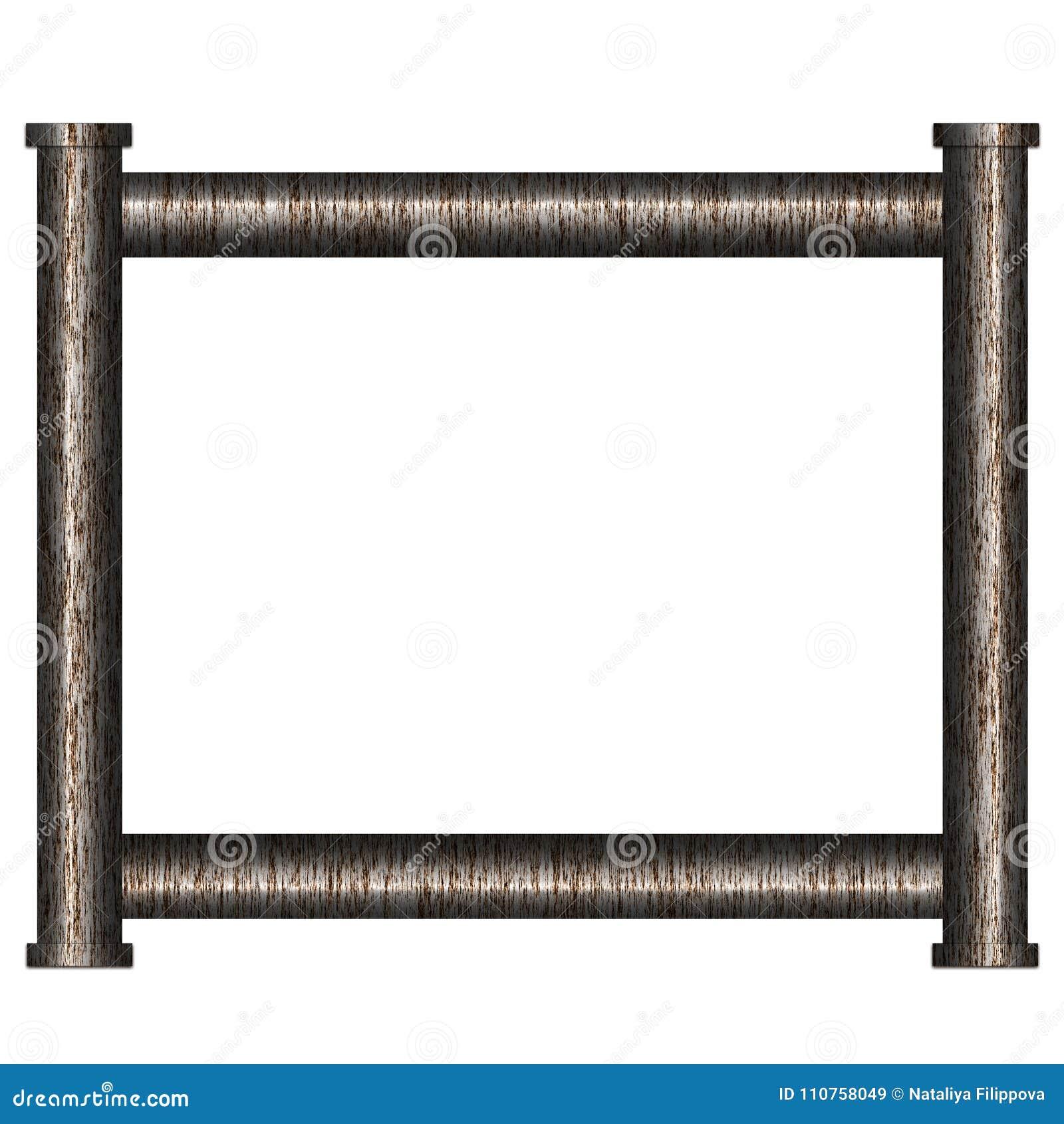 Feld vom Rohr stock abbildung. Illustration von aufbau - 110758049