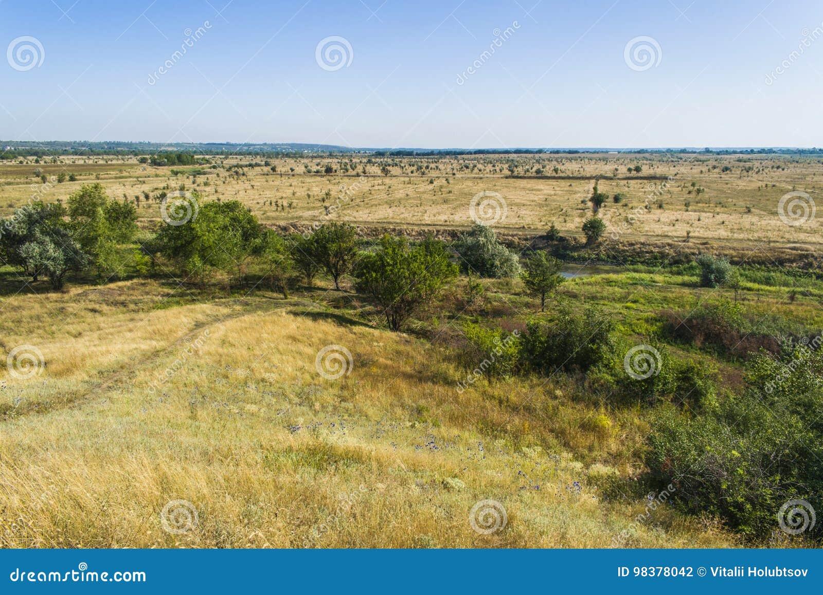 Felder, die nicht das Ende und den Rand sehen
