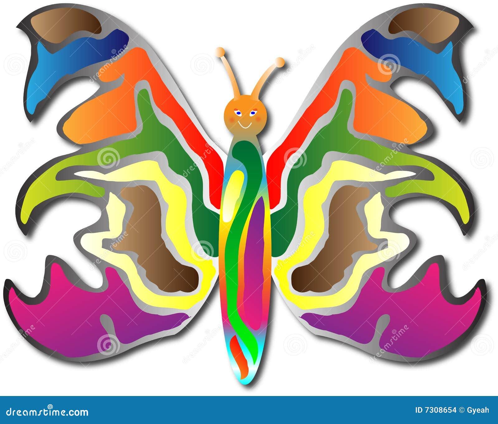 Felice lei farfalla