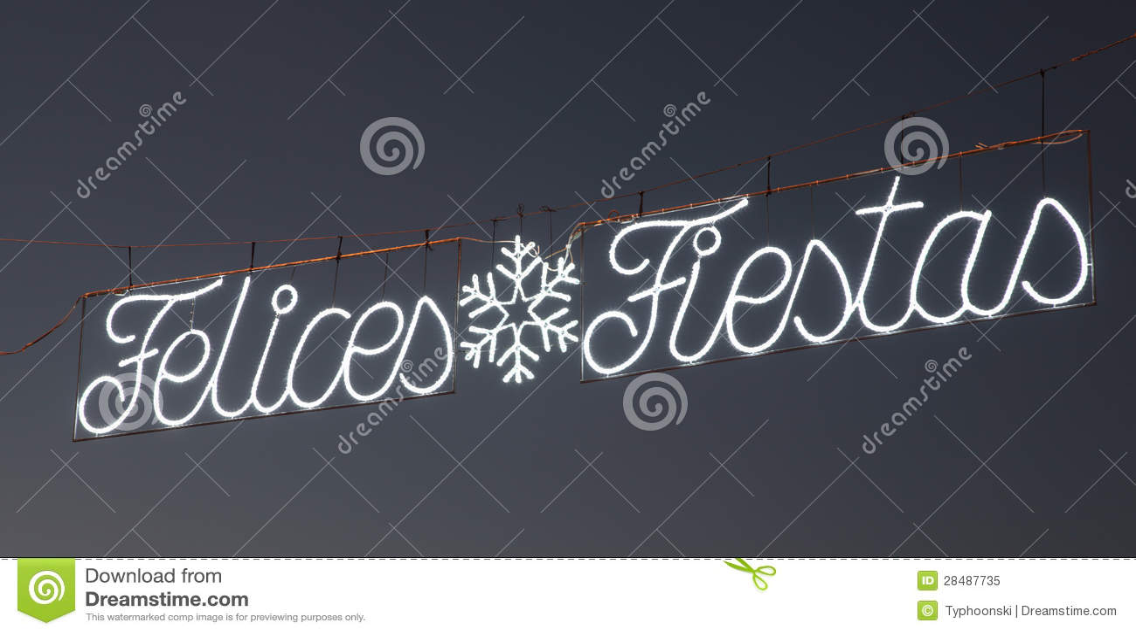 Felices Fiestas - Happy Holidays