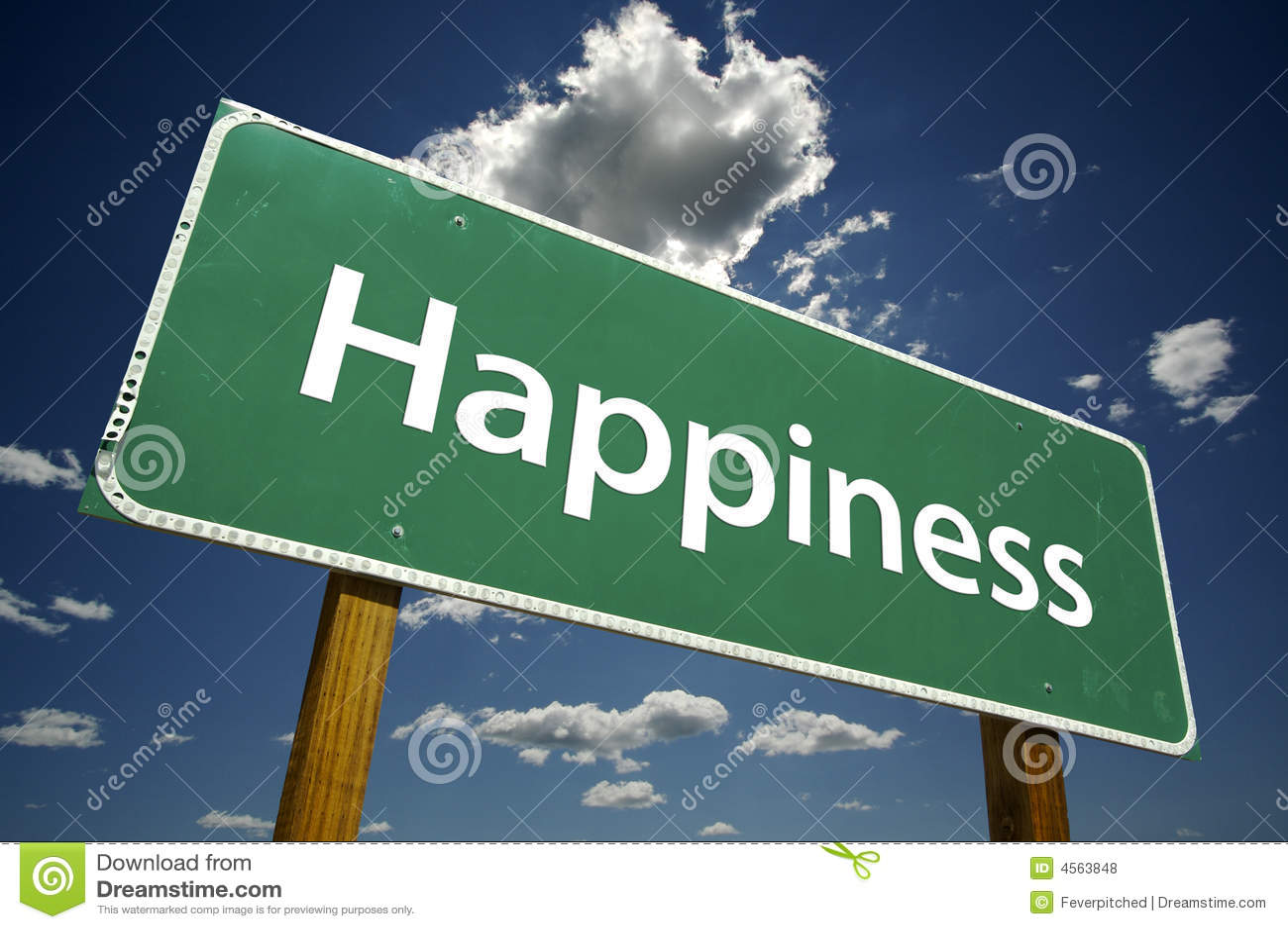 Felicidad - muestra de camino