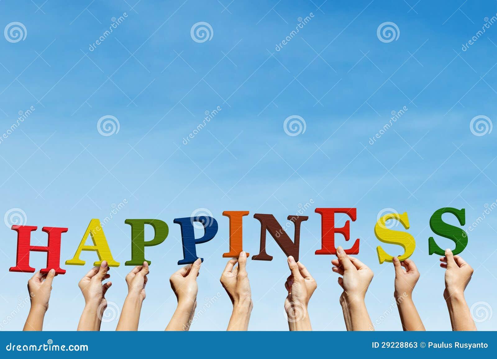 Download Felicidade ilustração stock. Ilustração de humano, mão - 29228863