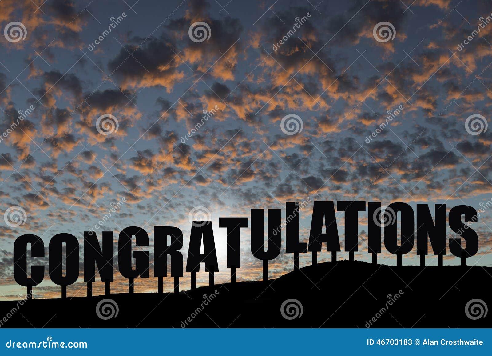 Felicitações