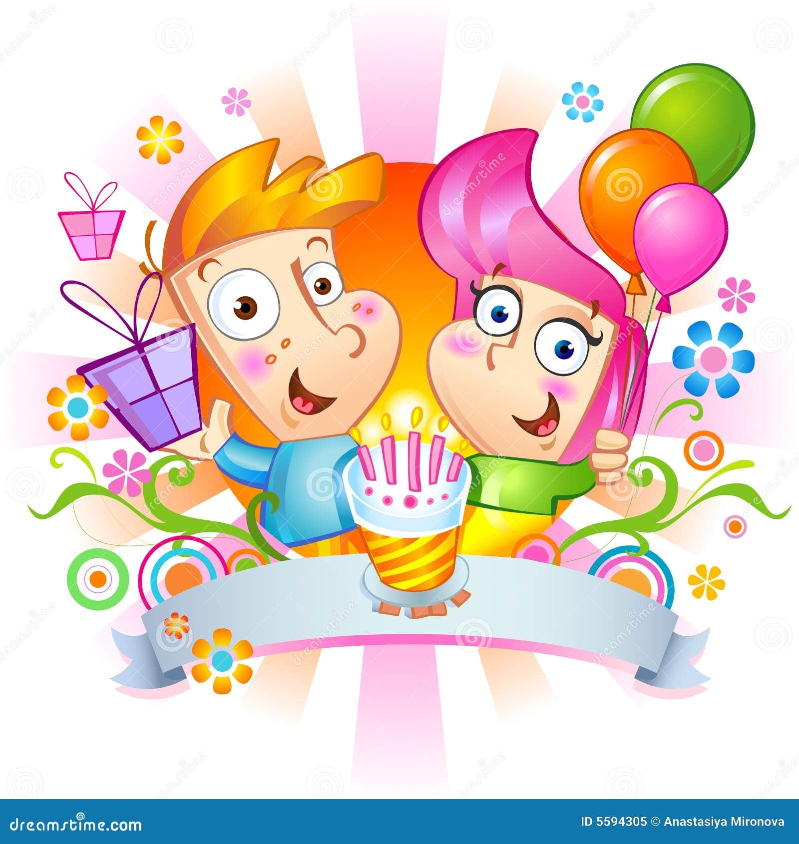 Felicitações do feliz aniversario