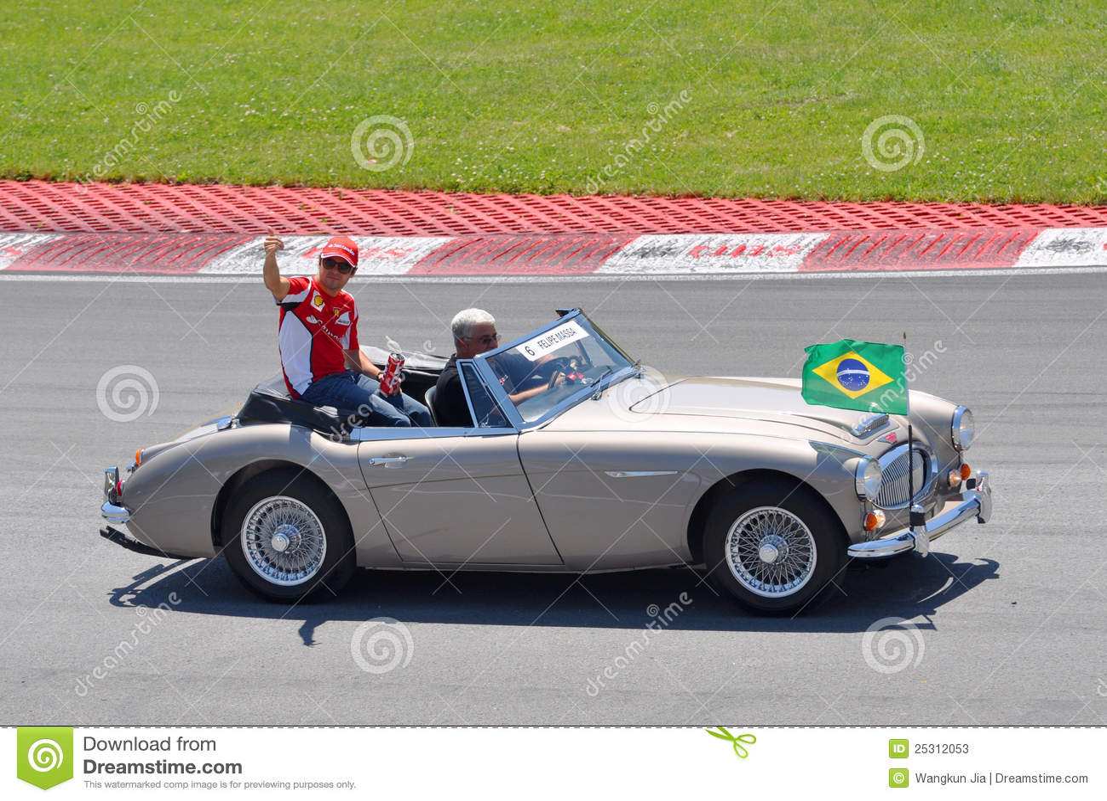Felipe Massa in 2012 F1 kanadisches großartiges Prix
