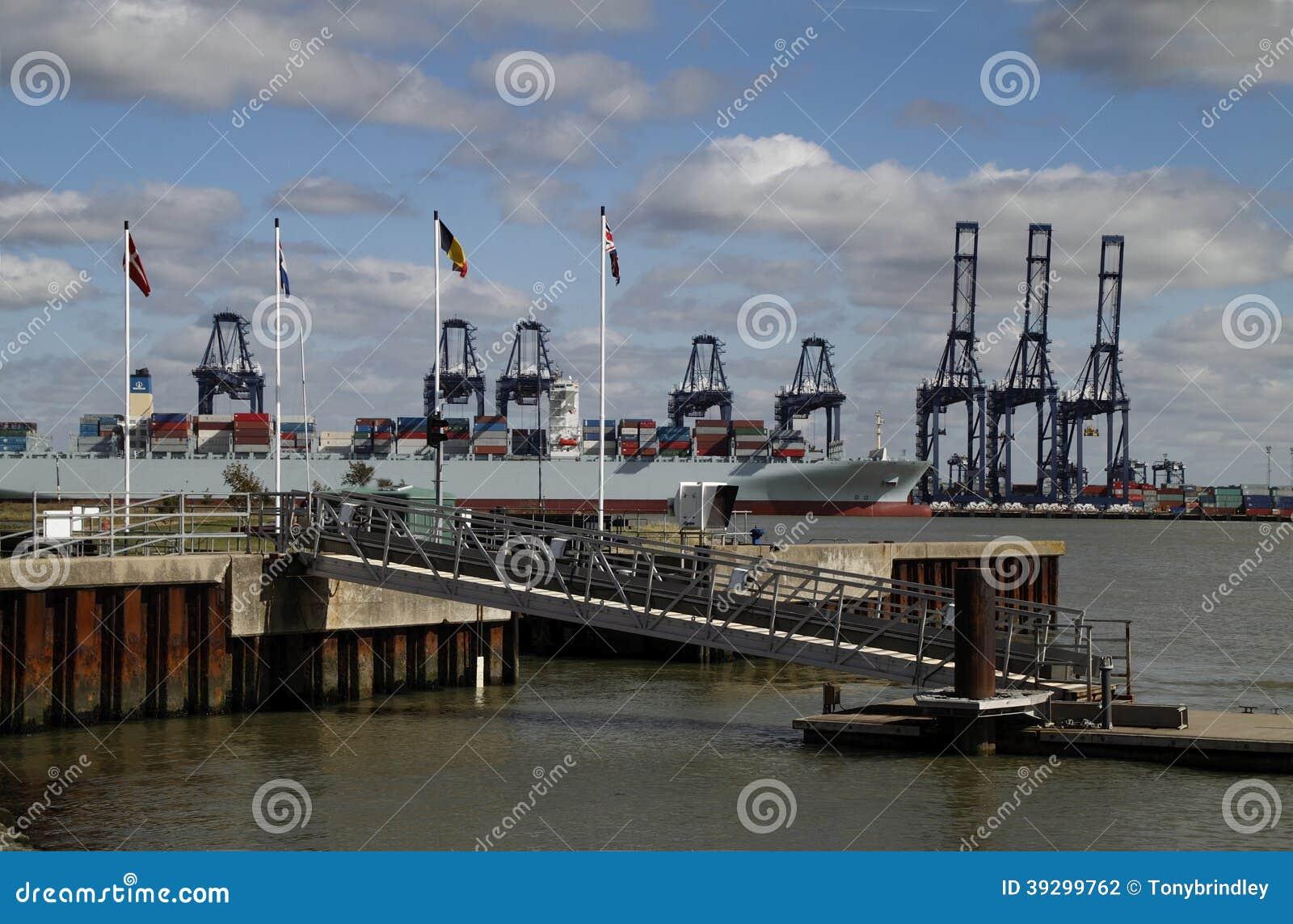 Felixstowe hamn