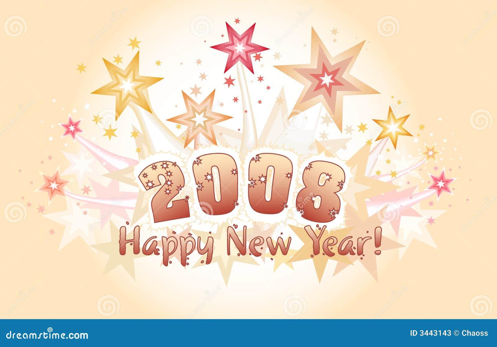Feliz Año Nuevo 2008
