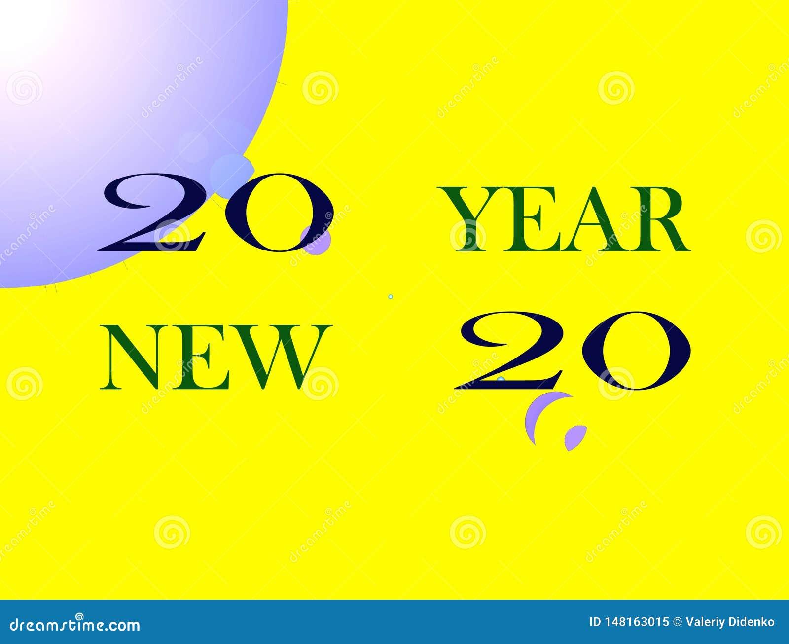 Feliz Año Nuevo de la imagen
