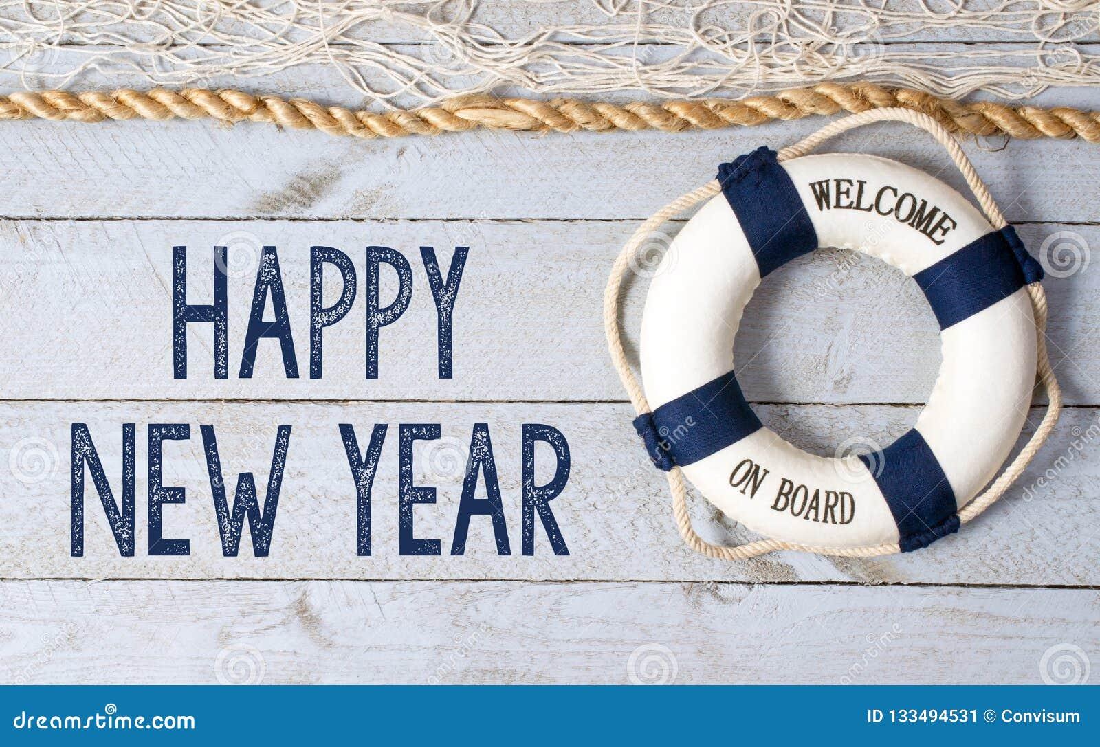 Feliz Año Nuevo - recepción a bordo