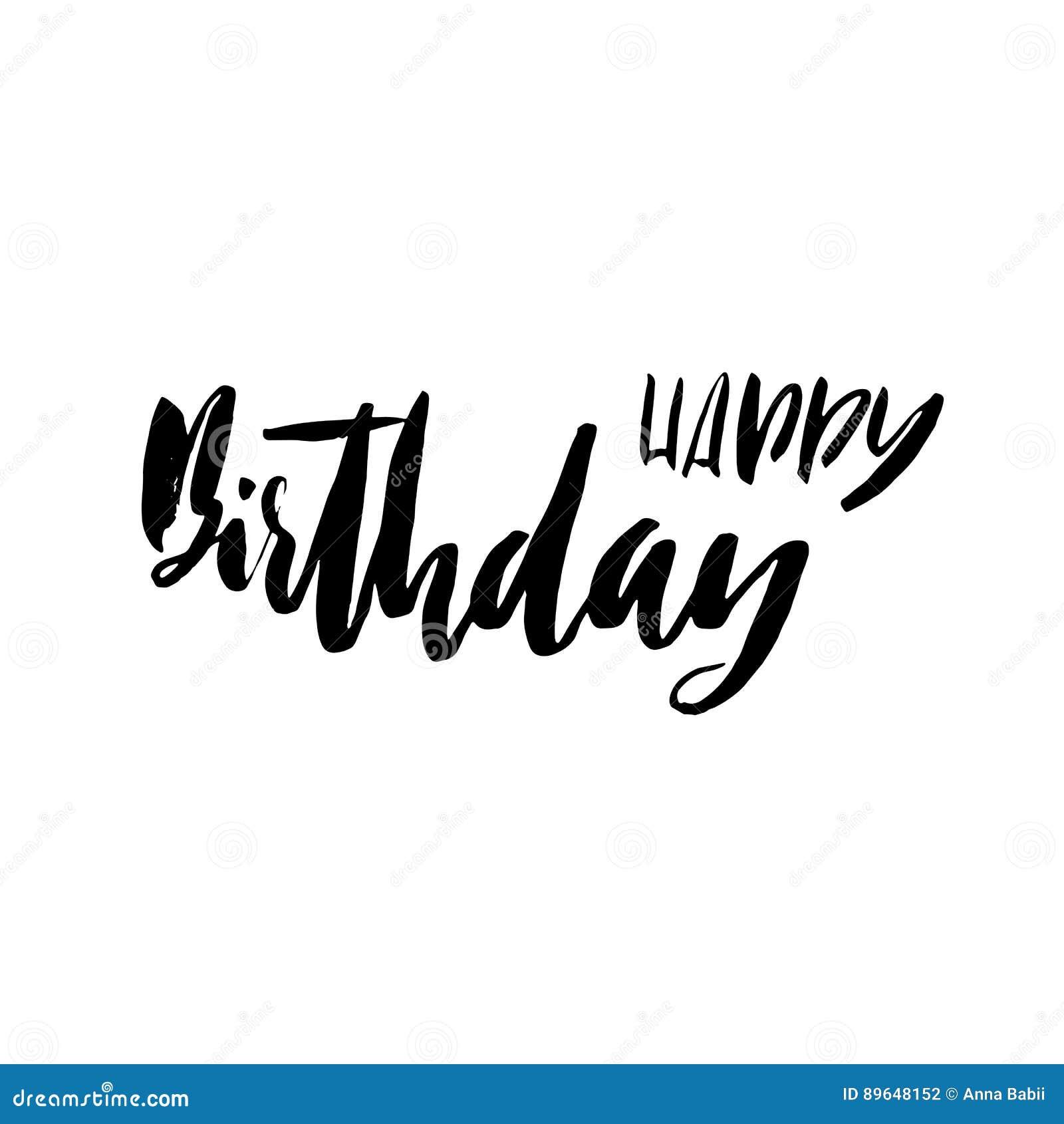 Feliz Cumpleaños Letras Para La Tarjeta De La Invitación Y