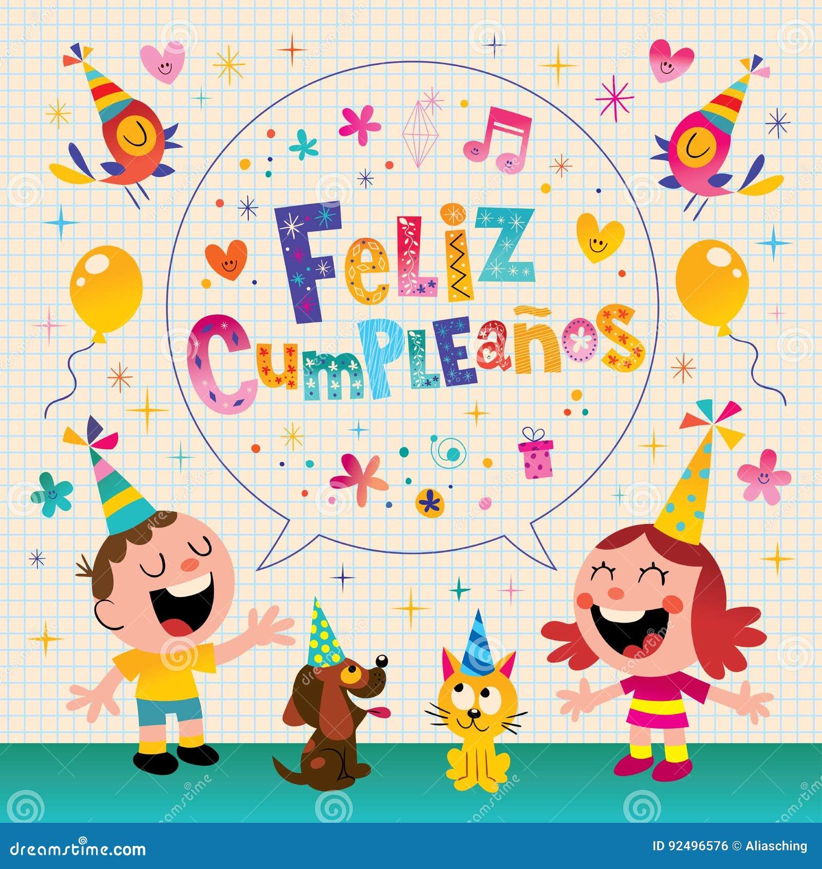 Gelukkige Verjaardag In Spaans Octopuss