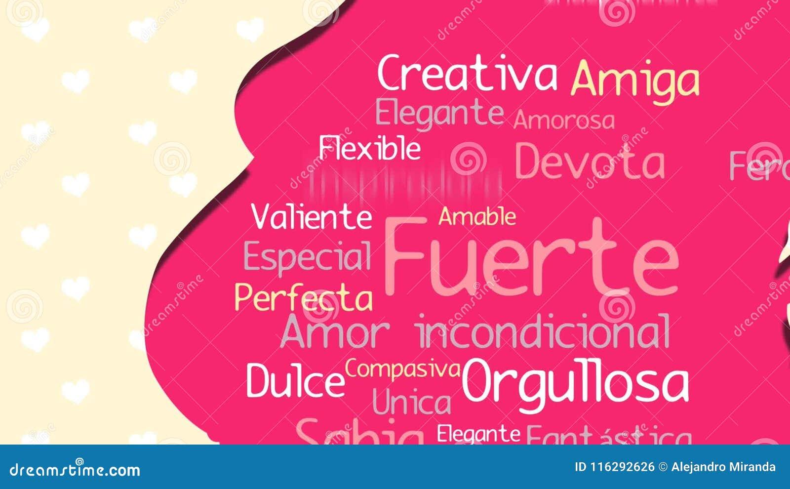 Feliz Dia De La Madre Gelukkige Moeder S Dag In Spaanse Taal