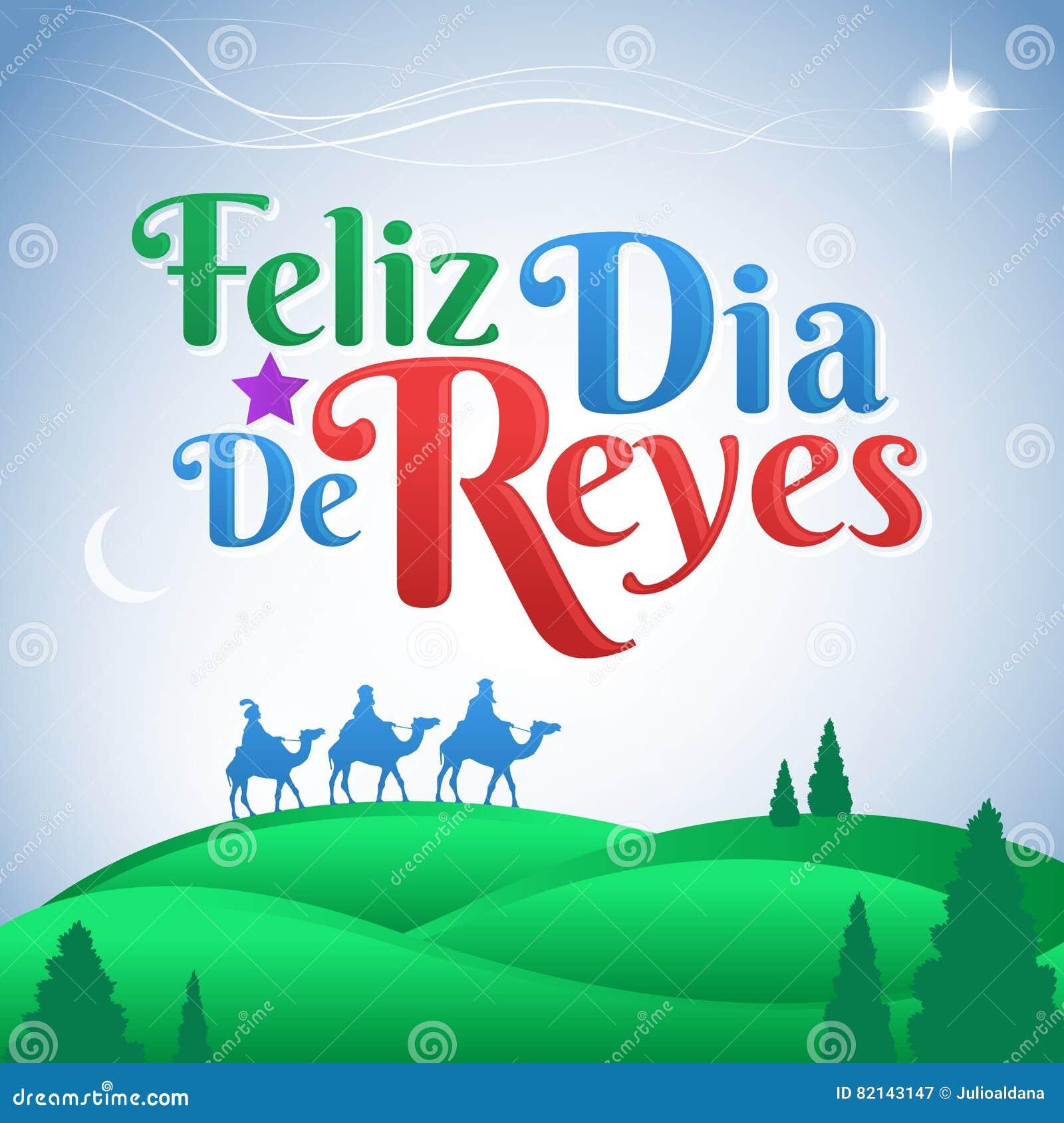 Feliz Dia De Reyes Spanische übersetzung Glücklicher Tag Des