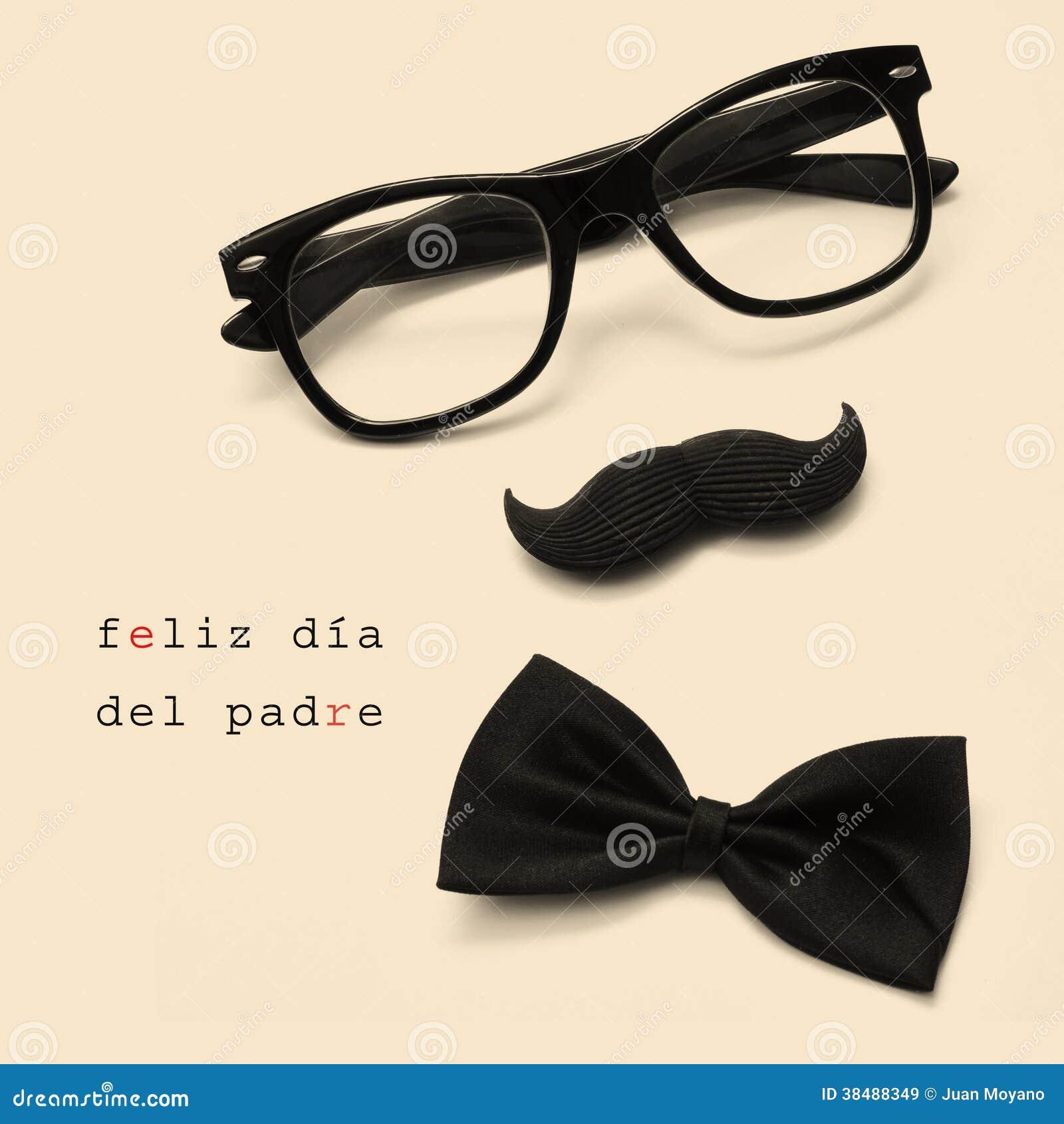 Download Feliz Dia Del Padre, Día De Padres Feliz Escrito En Español Imagen de archivo - Imagen de padres, amarillento: 38488349