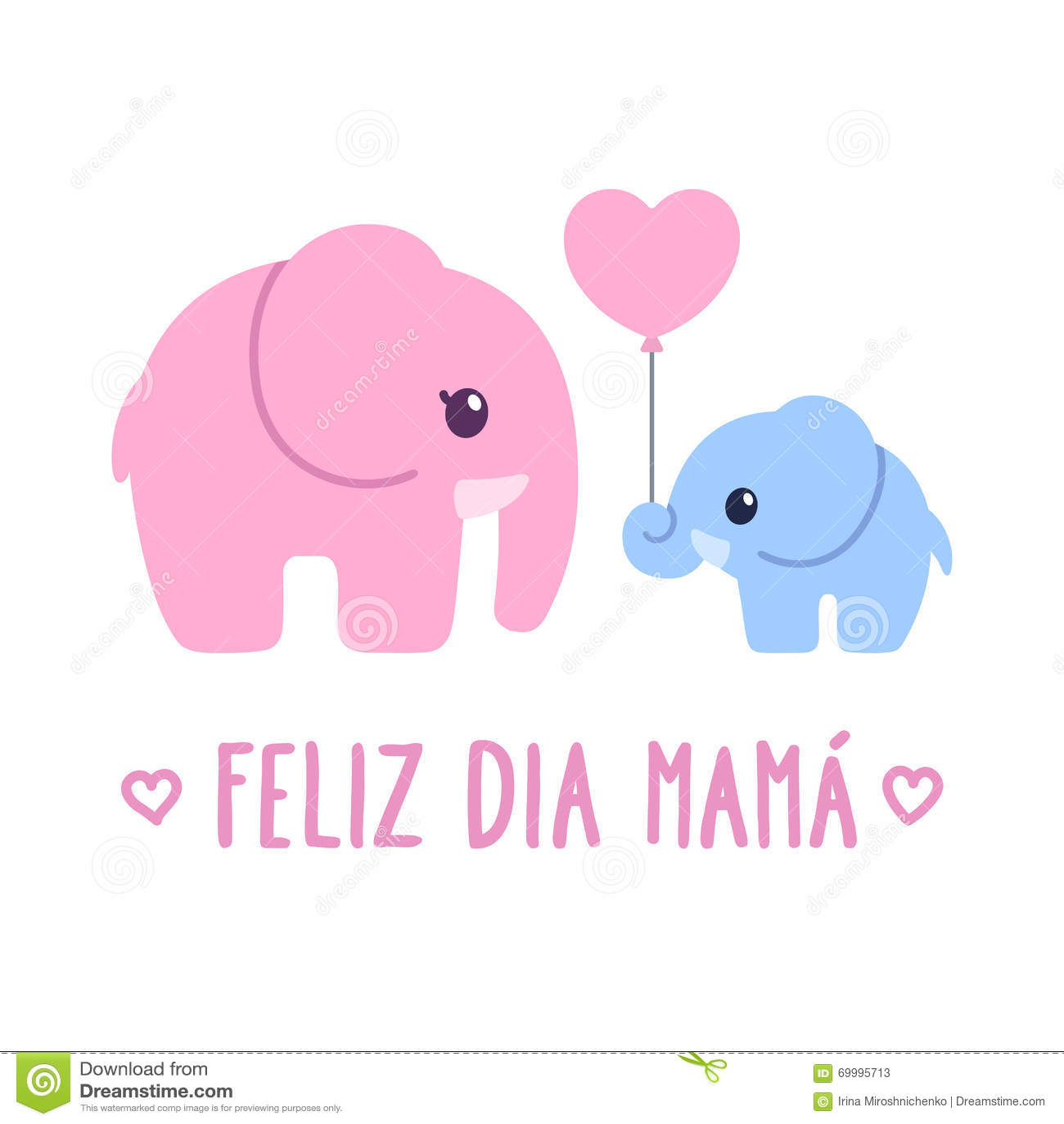 Feliz Dia Mama Stock Vector - Image: 69995713 Feliz Dia Mama